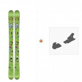 Ski Line Future Spin Shorty 2016 + Fixation de ski