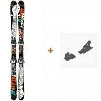 Ski Fischer Guru 2014 + Ski Bindings
