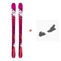 Ski Atomic Vantage Wmn 85 2016 + Fixation de ski