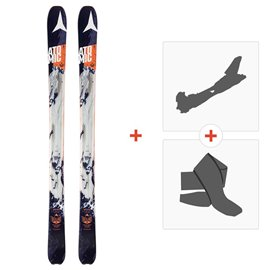 Ski Atomic Backland 95 2016 with Alpine Touring Bindings and Climbing skin