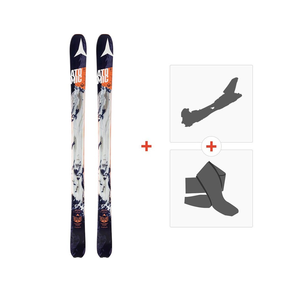 Ski Atomic Backland 95 2017 With Alpine Touring Bindings