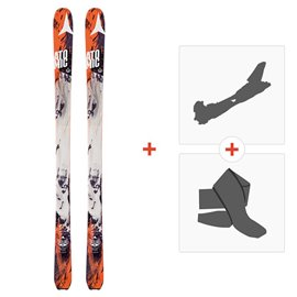 Ski Atomic Backland 85 2016 mit Tourenbindung und Felle