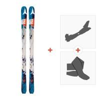 Ski Atomic Backland 78 2016 avec Fixations randonnée avec Peau