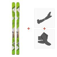 Ski Elan Alaska Pro 2016 + Fixations randonnée + Peau