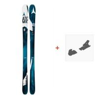 Ski Atomic Vantage 90 Cti 2016 + Fixation de ski