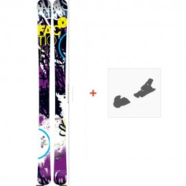 Ski Faction Dillinger 2013 + Fixation de ski