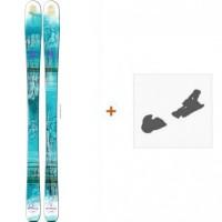 Ski Salomon Q-83 Myriad 216 + Fixation de ski