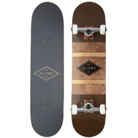 Skateboard Globe G2 Diablo 7.75'' - Oxblood/Anti Bras - CompleteGB10525189