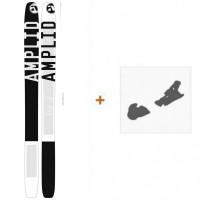 Ski Amplid A 10/30 191 2015 + Fixation de skiA-300021