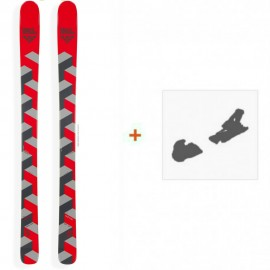 Ski Black Crows Corvus 2015 + Fixation de ski14COR83SAMP