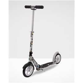 Micro Scooter White M&D Floral Grey 2016