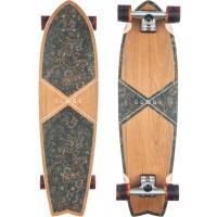 "Skateboard Globe Chromantic Cruiser 33.1\\"" Teak Floral Couch 201610525055-KFLRCOUCH"