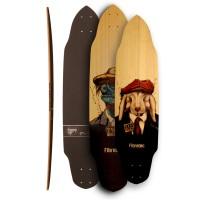 "Skateboard Fibretec Croco 35.75\\"" / 37.5\\"" 2016840-960-3222"