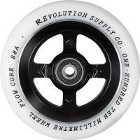 Revolution Supply Flow White PU Pro Scooter Wheel