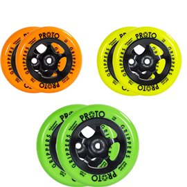 Proto Gripper Day-Glo Wheel Complete 2-Pack