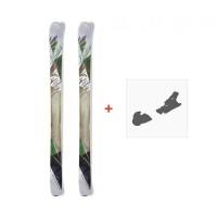 Ski Nordica Wildfire 2015 + Fixation de ski