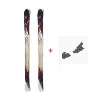 Ski Nordica Wild Belle 2015 + Fixation de ski0A423000.001