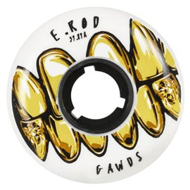 Gawds Pro Wheels E Rod 59mm / 89a Black, 4-Pack