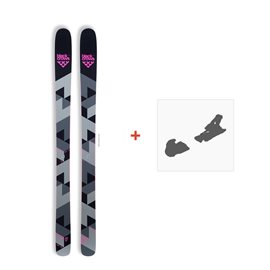 Ski Black Crows Corvus 2017 + Fixation de ski