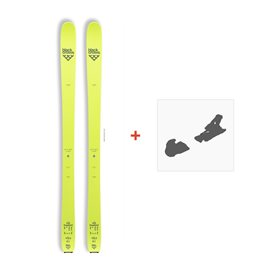 Ski Black Crows Orb Freebird 2017 +  Fixation de ski