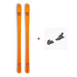 Ski Black Crows Vastus Freebird 2018 + Fixation de ski