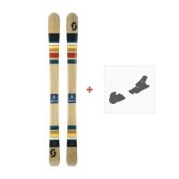 Ski Scott Sage 2017 + Fixation de ski