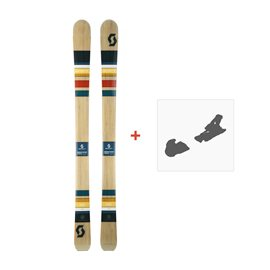 Ski Scott Sage 2017 + Ski bindings