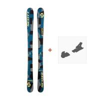 Ski Scott JR Scrapper 2017 + Ski bindings