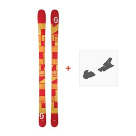 Ski Scott Punisher 95 2017 + Fixation de ski