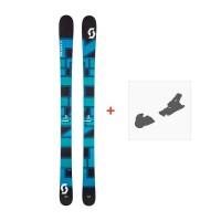Ski Scott Punisher 110 2017 + Ski bindings