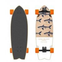 Long Island Surf Skate Retro Fish 30'' 2016