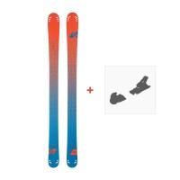 Ski Scott Cascade 110 2016 + Ski bindings