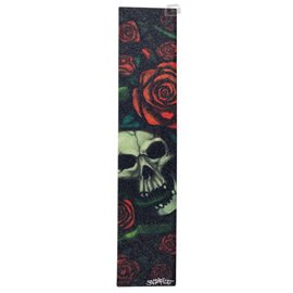 Sacrifice Grip Tape Sheets Skull & Roses
