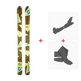 Ski Scott Superguide 105 2017 + Alpine Touring Bindings + Climbing skin