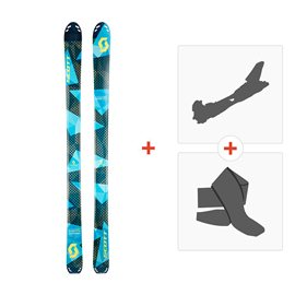 Ski Scott Superguide 95 2017 + Alpine Touring Bindings + Climbing skin