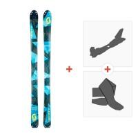 Ski Scott Superguide 95 2017 + Skibindungen + Felle