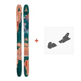 Ski Atomic Backland Bent Chetler Muco 2017 + Fixation de ski
