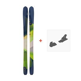 Ski Elan Spectrum 95 Carbon 2016 + Fixation de ski