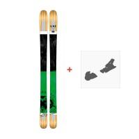 Ski Line Honey Supernatural 92 2017 + Fixation de ski