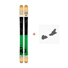 Ski Line Supernatural 92 2017 + Fixation de ski