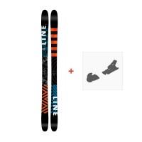 Ski Line Wallisch 2017 + Fixation de ski