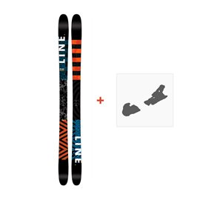Ski Line Wallisch 2017 + Ski bindings