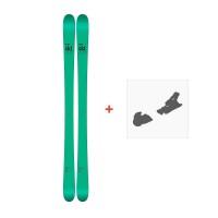 Ski Line Honey Badger 2017 + Fixation de ski