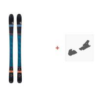 Ski Scott Reverse 2016 + Skibindungen