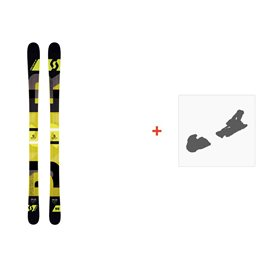 Ski Scott Punisher 95 2016 + Ski bindings