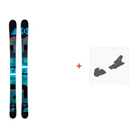 Ski Scott Punisher 110 2016 + Fixation de ski239675