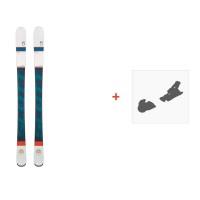 Ski Scott Luna 2016 + Ski bindings