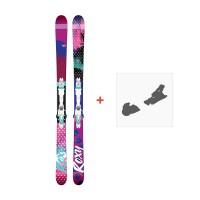 Ski Roxy Ily 2017 +  Fixation de ski