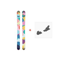 Ski Roxy Bonbon + Fixations 2017
