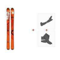 Ski Faction Agent 100 2017 + Fixations randonnée + Peau